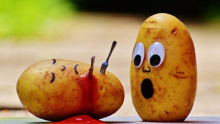 Si comes muchas patatas tendrás mayor riesgo de hipertensión