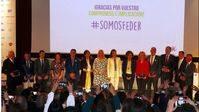 Premios FEDER 2017 con la presencia de SM la Reina