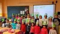 Aumenta el número de niños y niñas que van al cole con Federito