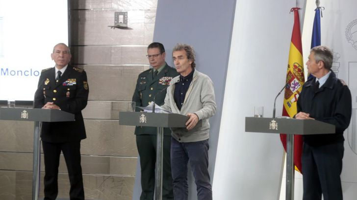 Casi 14.000 infectados en España de Covid-19 y 558 fallecidos