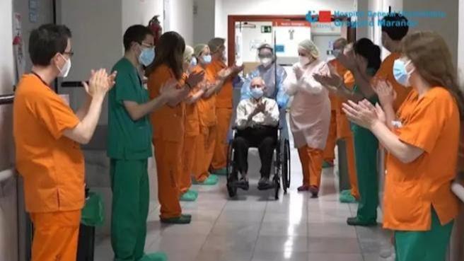 El Hospital Gregorio Marañón supera las 2.000 altas hospitalarias de pacientes con Covid-19