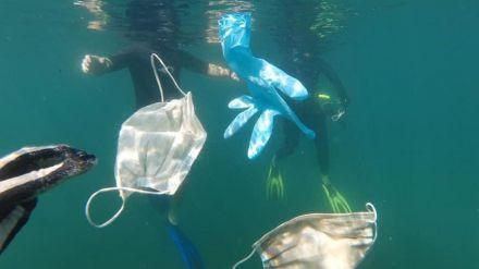 Expertos en salud piden el uso de mascarillas reutilizables para proteger a las personas y al planeta