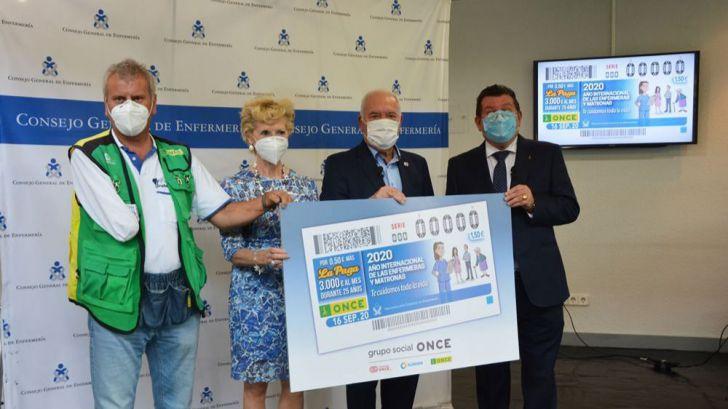 La ONCE rinde homenaje a enfermeras y matronas