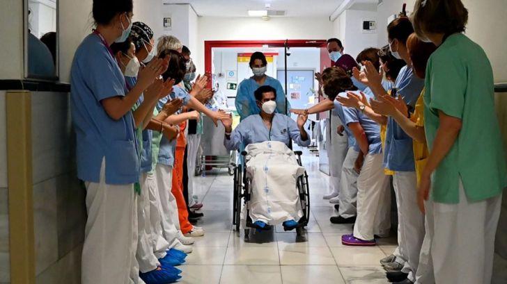 Covid-19: El Hospital Gregorio Marañón da el alta a su paciente número 5.000