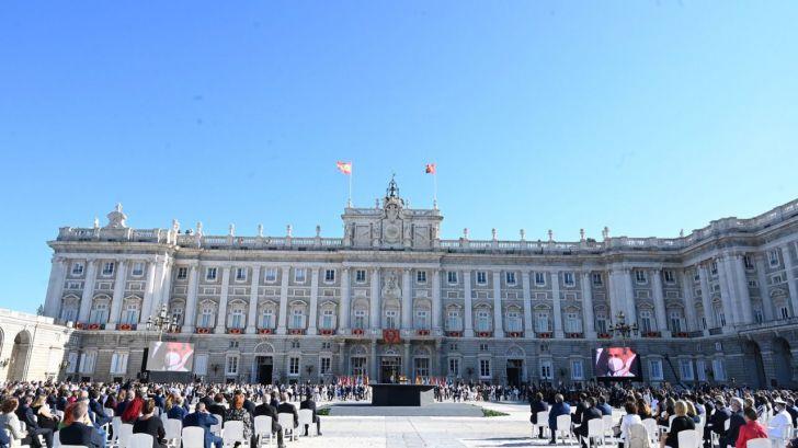 España reconoce al personal sanitario en un Homenaje de Estado
