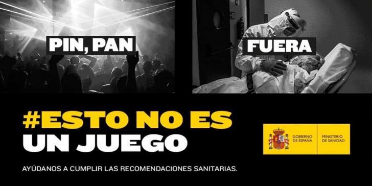 Hay que parar la segunda ola: #EstoNoEsUnJuego