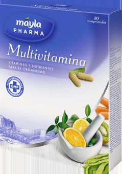 Reduce el cansancio y la fatiga con multivitamina